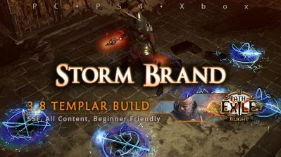 [Templar] PoE 3.8 Storm Brand Inquisitor Beginner Build